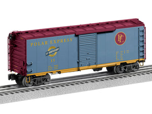 Lionel L-1926820 THE POLAR EXPRESS 15th Anniversary FreightSounds Boxcar
