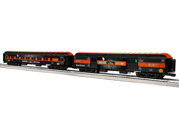 "Lionel 1927070 - 18"" Passenger Car ""ELX Midnight Special"" (2-Car) Pack #1"
