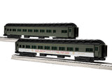 "Lionel 1927110 - 18"" Passenger Coach ""Southern Pacific"" (2-Car) Pack #1"