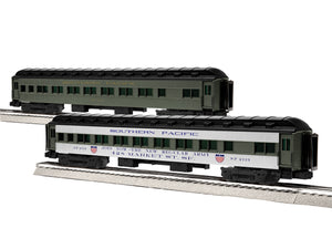 "Lionel 1927120 - 18"" Passenger Coaches ""Southern Pacific"" (2-Car) Pack #2"