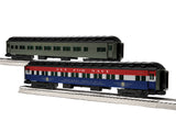 "Lionel 1927130 - 18"" Passenger Coaches ""Southern Pacific"" (2-Car) Pack #3"