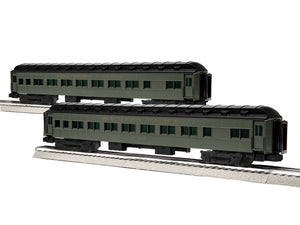 "Lionel 1927140 - 18"" Passenger Coaches ""Southern Pacific"" (2-Car) Pack #4"