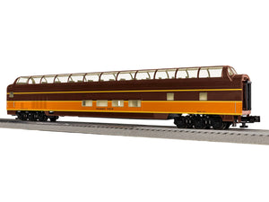 "Lionel 1927230 - Excursion StationSounds Dome Car ""Norfolk Southern"" Summit View"