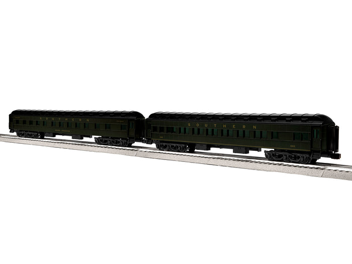 "Lionel 1927480 - 18"" Passenger Cars ""Southern"" (2-Car) Pack #2"