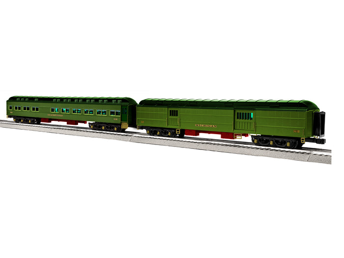 "Lionel L-1927670 - StationSounds Diner/Baggage Car ""Pre-War"" (2-Car)"