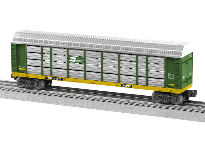 "Lionel 1928011 - Autorack ""Burlington Northern"" #159173"