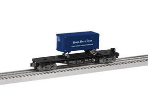 "Lionel 1928550 - TOFC Flatcar ""Nickel Plate Road"" (Add-On)"