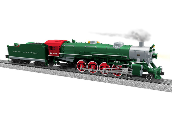"Lionel 1931140 - Legacy USRA Light Mountain Mikado ""North Pole Central"" #1224"