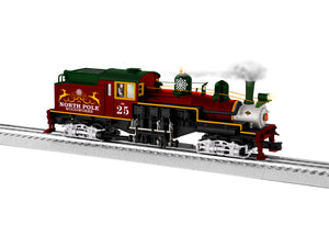 "Lionel 1931550 - Legacy 2 Truck Shay Steam Locomotive ""Santa's Sleigh Shay"" w/ Bluetooth #25"