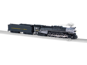 "Lionel 1931690 - Legacy T1 Steam Locomotive ""Chesapeake & Ohio"" #3020 - Weathered w/ Bluetooth"