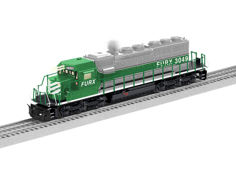 "Lionel 1933103 - SD40-2 Diesel Locomotive ""FURX"" #3049 - Non-Powered"