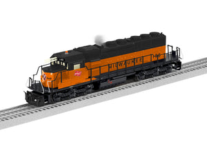 "Lionel 1933113 - Legacy SD40-2 Diesel Locomotive ""Milwaukee Road"" #196"