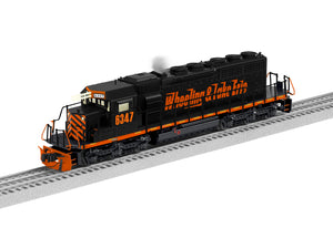 "Lionel 1933143 - SD40-2 Diesel Locomotive ""Wheeling & Lake Erie"" #6347 - Non-Powered"