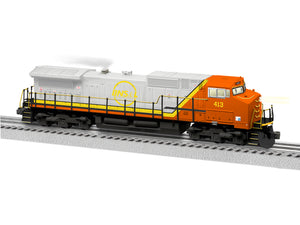 "Lionel 1933253 - Legacy C44-9W Diesel Locomotive ""Quebec North Shore & Labrador"" #413 - Non-Powered"