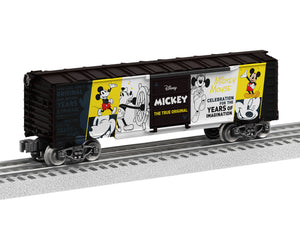 "Lionel 1938010 - Disney Boxcar ""Mickey The True Original"""