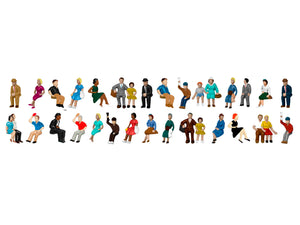 Lionel HO 1957210 - Sitting Passengers (50 Pack)