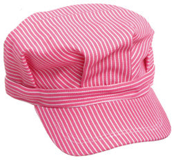 Hat - Pink Strap Engineer Hat