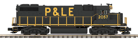 "MTH 20-20484-1 - GP38-2 Diesel Engine ""Pittsburgh & Lake Erie"" w/ PS3 (Hi-Rail Wheels)"