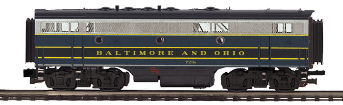 "MTH 20-20606-3 - F-7 B-Unit Diesel ""Baltimore & Ohio"" (Non-Powered)"
