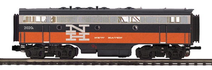 "MTH 20-20608-3 - F-7 B-Unit Diesel ""New Haven"" (Non-Powered)"