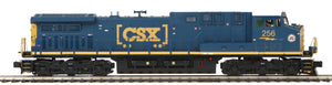 "MTH 20-20633-1 - AC4400cw Diesel Engine ""CSX"" w/ PS3 (Hi-Rail Wheels)"