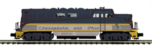"MTH 20-20696-1 - BL-2 Diesel Engine ""Chesapeake & Ohio"" w/ PS3"