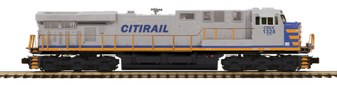 "MTH 20-20738-1 - ES44AC Diesel Engine ""Citirail"" w/PS3 (Hi-Rail Wheels)"