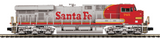 "MTH 20-20740-1 - ES44AC Diesel Engine ""Santa Fe"" w/ PS3 (Hi-Rail Wheels)"