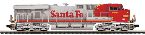 "MTH 20-20741-1 - ES44AC Diesel Engine ""Santa Fe"" w/ PS3 (Hi-Rail Wheels)"