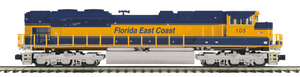 "MTH 20-20747-1 - SD70M-2 Diesel Engine ""Florida East Coast"" w/ PS3 (Hi-Rail Wheels)"