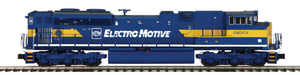 "MTH 20-20750-1 - SD70M-2 Diesel Engine ""Electro Motive Division"" EMDX74 w/ PS3 (Hi-Rail Wheels)"