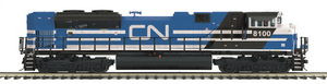 "MTH 20-20752-1 - SD70ACe Diesel Engine ""Canadian National"" w/ PS3 (Hi-Rail Wheels)"