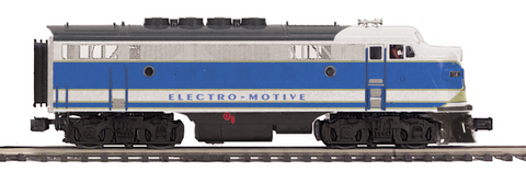 "MTH 20-20770-1 - F-3 A Unit Diesel Engine ""Electro Motive Division"" w/ PS3 (Hi-Rail Wheels)"