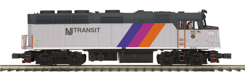 "MTH 20-20793-1 - F40PH Diesel Engine ""NJ Transit"" w/ PS3 (Hi-Rail Wheels)"