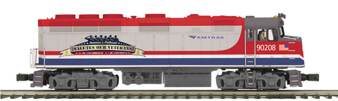"MTH 20-20794-1 - F40PH Diesel Engine ""Amtrak"" w/ PS3 (Hi-Rail Wheels)"