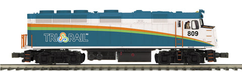 "MTH 20-20797-1 - F40PH Diesel Engine ""Florida Tri-Rail"" w/ PS3 (Hi-Rail Wheels)"