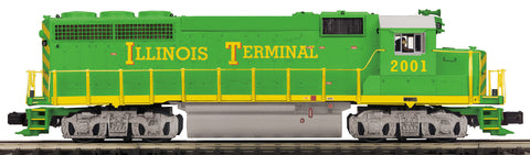 "MTH 20-20834-1 - GP-40 Diesel Engine ""Illinois Terminal"" w/ PS3 (Hi-Rail Wheels)"