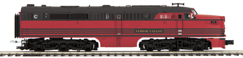 "MTH 20-20846-1 - Alco PA A Unit Diesel Engine ""Lehigh Valley"" w/ PS3 (Hi-Rail Wheels)"