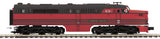 "MTH 20-20846-4 - Alco PA A Unit Non-Powered Diesel Engine ""Lehigh Valley"" (Hi-Rail Wheels)"