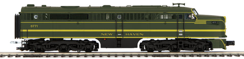 "MTH 20-20848-4 - Alco PA A Unit Non-Powered Diesel Engine ""New Haven"" (Hi-Rail Wheels)"
