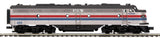 "MTH 20-20849-1 - E-8 A Unit Diesel Engine ""Amtrak"" w/ PS3 (Hi-Rail Wheels)"
