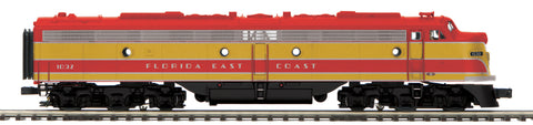 "MTH 20-20853-1 - E-8 A Unit Diesel Engine ""Florida East Coast"" w/ PS3 (Hi-Rail Wheels)"