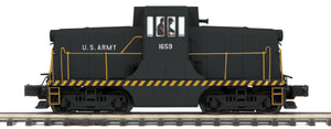 "MTH 20-20875-1 - G.E. 44 Ton Phase 3 Diesel Engine ""U.S. Army"" #1659 w/ PS3 (Hi-Rail Wheels)"