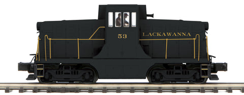 "MTH 20-20882-1 - G.E. 44 Ton Phase 3 Diesel Engine ""Lackawanna"" #52 w/ PS3 (Hi-Rail Wheels)"
