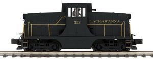 "MTH 20-20881-1 - G.E. 44 Ton Phase 3 Diesel Engine ""Lackawanna"" #53 w/ PS3 (Hi-Rail Wheels)"