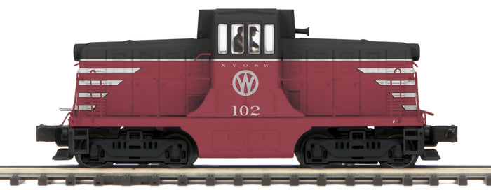 "MTH 20-20884-1 - G.E. 44 Ton Phase 1c Diesel Engine ""New York Ontario & Western"" #102 w/ PS3 (Hi-Rail Wheels)"