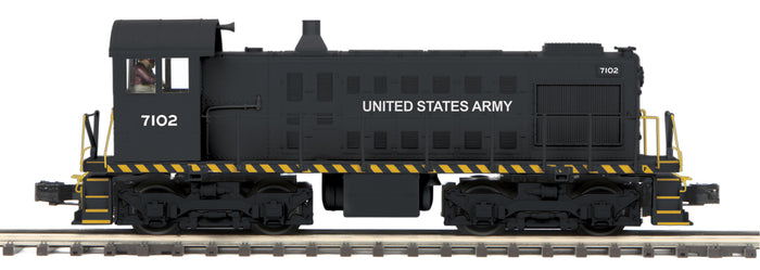 "MTH 20-20889-1 - Alco S-2 Switcher Diesel Engine ""U.S. Army"" #7102 w/ PS3"