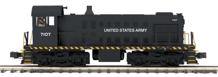 "MTH 20-20890-1 - Alco S-2 Switcher Diesel Engine ""U.S. Army"" #7107 w/ PS3"