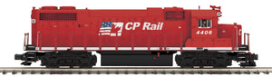 "MTH 20-20900-1 - GP38-2 Diesel Engine ""CP Rail"" #4406 w/ PS3 (Hi-Rail Wheels)"