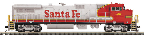 "MTH 20-20912-1 - Dash 8-40BW Diesel Engine ""Santa Fe"" w/ PS3 (Hi-Rail Wheels)"